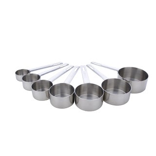 Miu 7-cup 5-spoon Stainless Steel Measuring Set