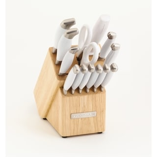 KitchenAid 14-piece Frosted Pearl Cutlery Set
