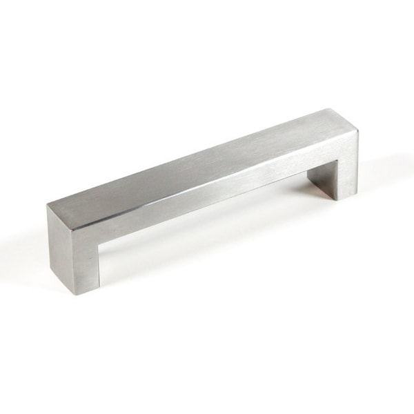 Contemporary Stainless Steel BOLD Design Cabinet Bar Pull Handle (Set of 10)