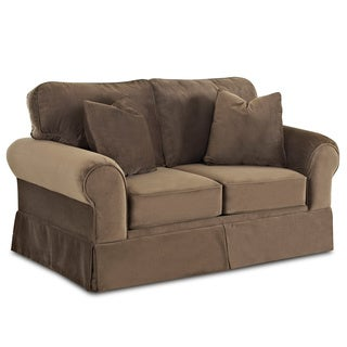 Made To Order Wyatt Chocolate Loveseat