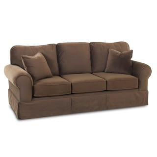 Made To Order Wyatt Chocolate Sofa