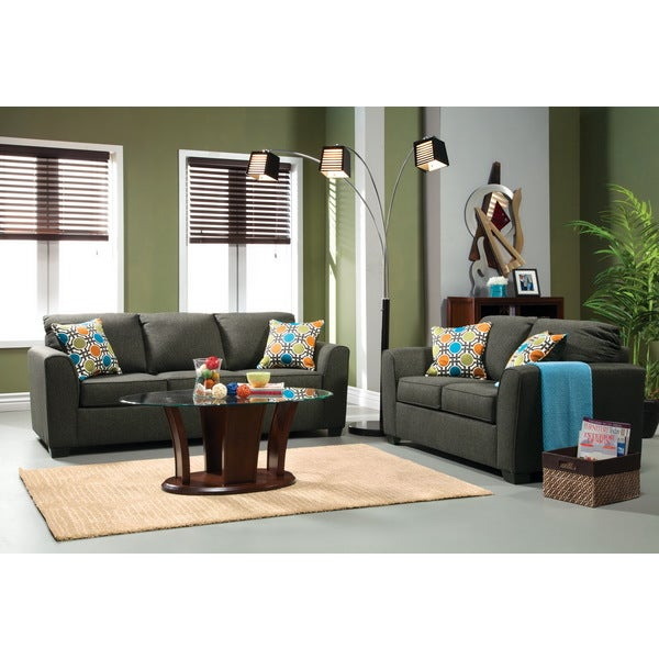 Furniture Of America Playan 2 Piece Fabric Sofa And