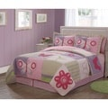 Casual Butterflies Cotton 3-piece Quilt Set
