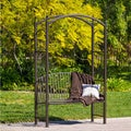 Christopher Knight Home Auckland Cast Bronze Trellis Bench