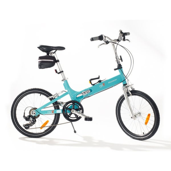 FBX Blue 20-inch Monterey Folding Bike 12617329