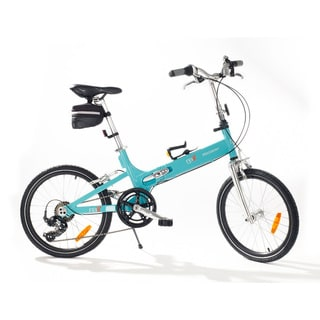 FBX Blue 20-inch Monterey Folding Bike