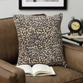 Plush Decorative Leopard Throw Pillow