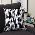Plush Decorative Zebra Throw Pillow