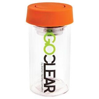 GoClear Glass Orange Tumblers