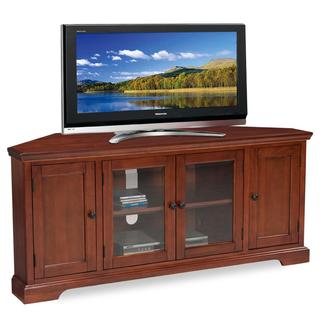 Westwood Cherry 60-inch Corner TV Console