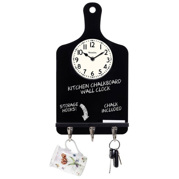 Chalkboard Kitchen Clock