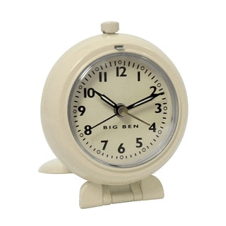 White QA Travel Clock