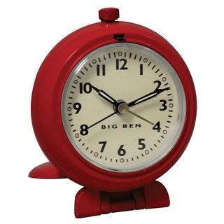 Red QA Travel Clock