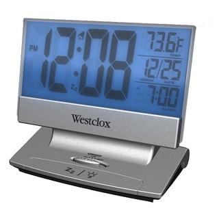 LCD Alarm Clock Plasma