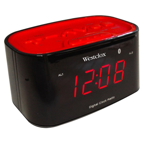 Bluetooth LED Clock Radio