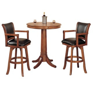 Park View Medium Brown Cherry 3-piece Pub Set