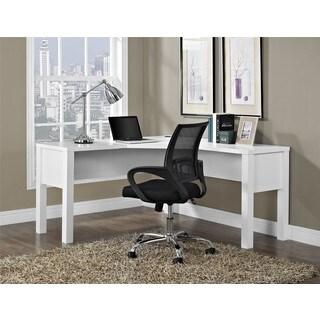 Altra Princeton White 'L' Desk