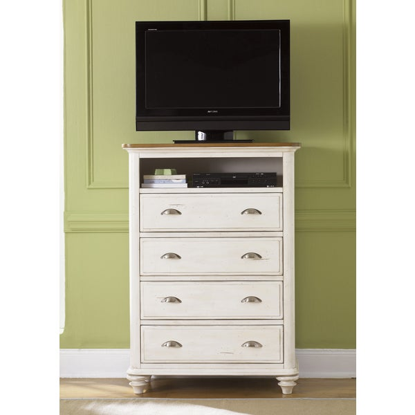 Liberty Ocean Isle 4-drawer Media Chest 12617964