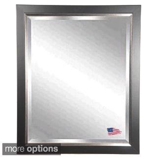 American Made Rayne Black and Silver Wall Mirror