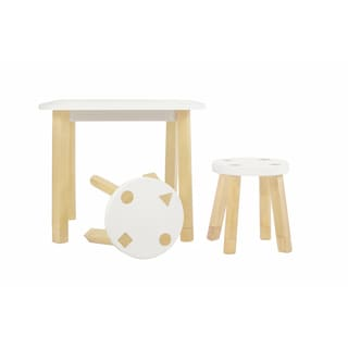 Babyletto Kaleidoscope Playset, Mini Table and Stools