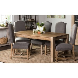 Kira 70-inch Teak Finish Dining Table