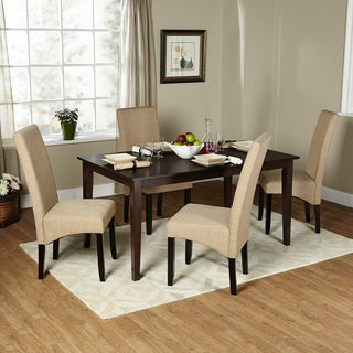 Simple Living 5-piece Brentwood Parson Dining Set
