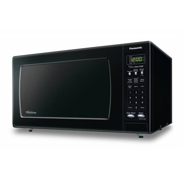 Panasonic NN-SN733B Black Stainless Steel 1.6-cubic-foot Microwave Oven