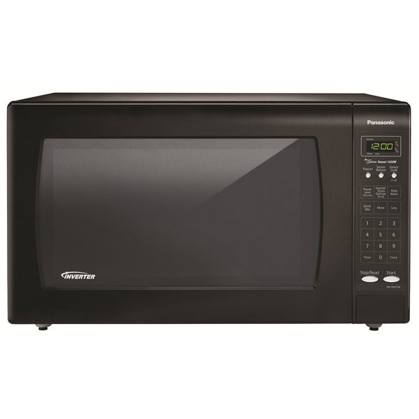 Panasonic 2.2 Cubic Foot Black Microwave