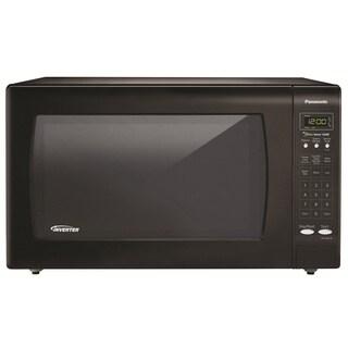 Panasonic 2.2 Cubic Foot Black Microwave