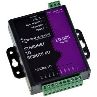 Brainboxes Ethernet to 8 Digital IO Lines - ED-008