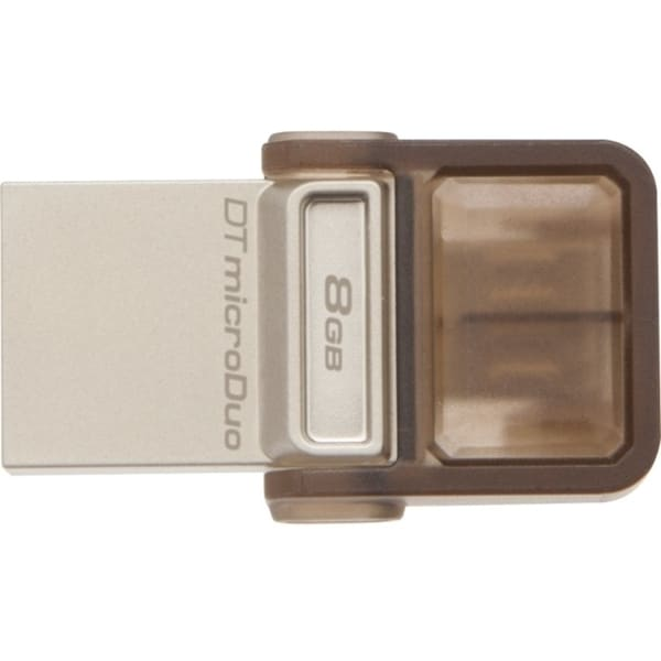 Kingston 8GB DataTraveler microDuo USB 2.0 On-The-Go Flash Drive