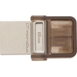 Kingston 8GB DataTraveler microDuo USB 2.0 On-The-Go Flash Drive