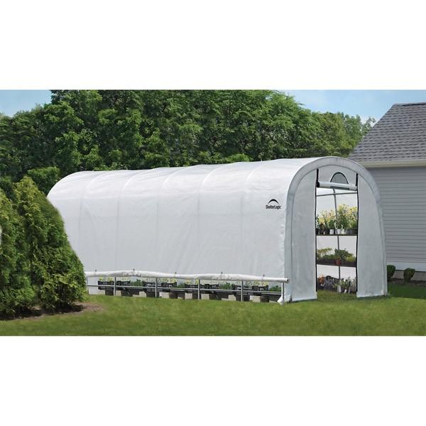 Shelter Logic Grow it Heavy Duty Walk-Thru Greenhouse 12x24x8-foot 12621300