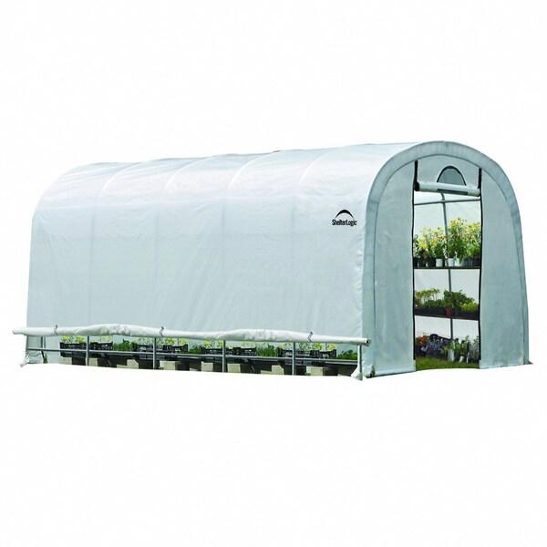 Shelter Logic Grow it Heavy Duty Walk-Thru Greenhouse 12x20x8-feet 12621301