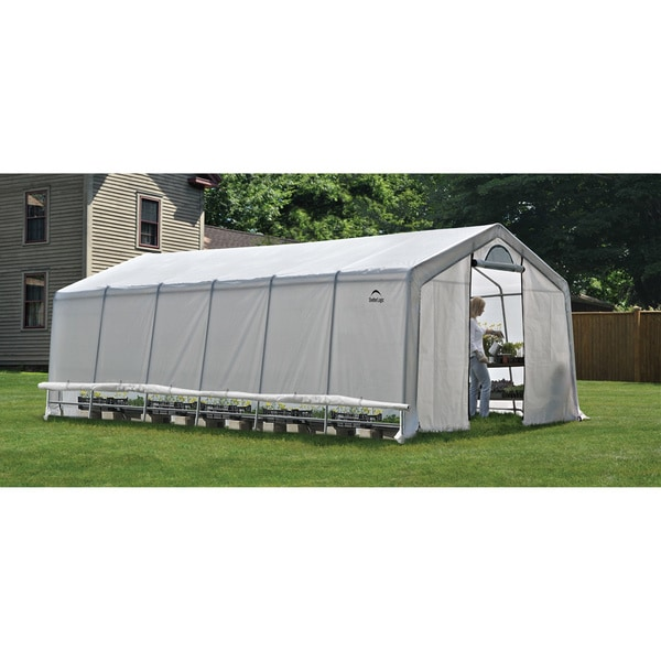 Shelter Logic Grow it Heavy Duty Walk-Thru Greenhouse 12' x 24x8-feet