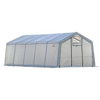 Shelter Logic Peak Top Heavy Duty Walk-Thru Greenhouse 12x20x8-feet