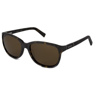 Nautica Men's/ Unisex N6151S Polarized/ Rectangular Sunglasses