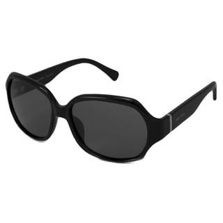 Nautica Women's N6162S Polarized/ Rectangular Sunglasses