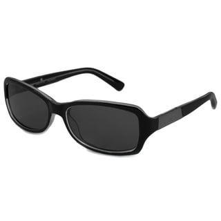 Nautica Women's N6147S Polarized/ Rectangular Sunglasses