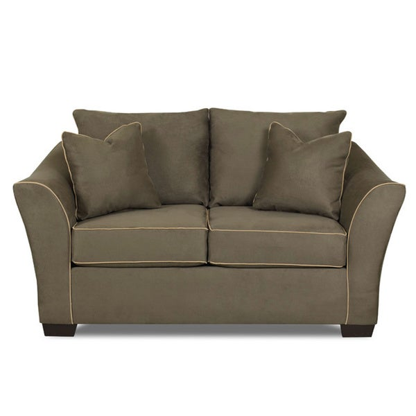 Made To Order Thorpe Olive Green Loveseat
