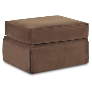 Wyatt Chocolate Brown Ottoman