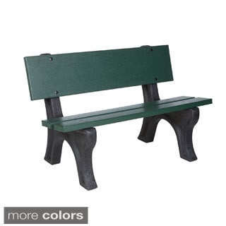 Eagle One Commercial-grade Greenwood 4-foot Depot Park Bench