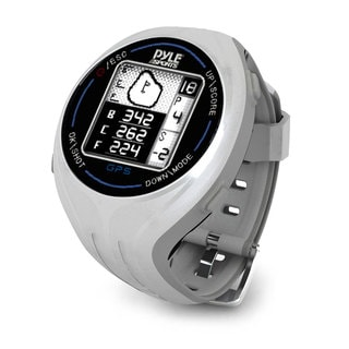 Pyle Grey Personal GPS Golf Watch with Automatic Course Recognition