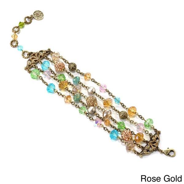 Sweet Romance Multi-strand Bracelet