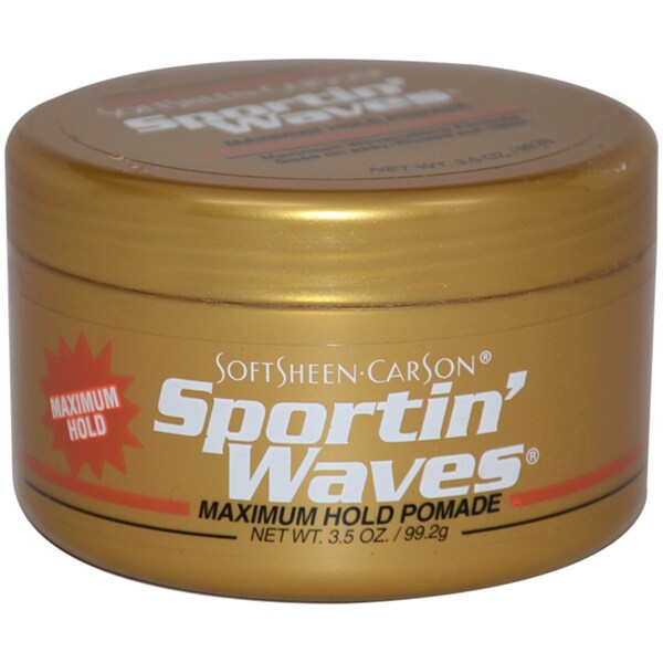 Soft Sheen Sportin' Waves Maximum Hold Gel 3.5-ounce Pomade