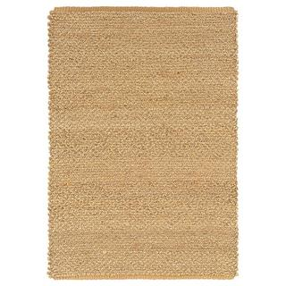 Handmade Braided Extra-thick Natural Jute Area Rug (5' x 8')