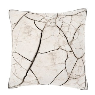 Maxwell Dickson Cracks and Connections 18-inch Velour Throw Pillow