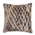 Maxwell Dickson Snake Pattern Leather 18-inch Velour Throw Pillow