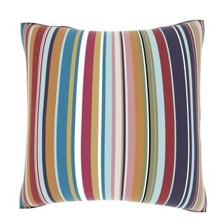 Maxwell Dickson Vertical Candy Gradient 18-inch Velour Throw Pillow