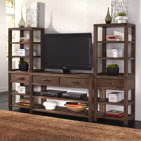 Barnside 3PC Entertainment Center